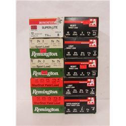 10 BOXES OF 12GA RELOADS