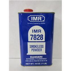 ONE CAN IMR 7828 SMOKELESS POWDER