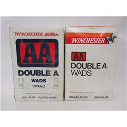 2 BOXES OF WINCHESTER AA WADS