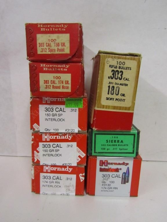 303CAL PROJECTILES