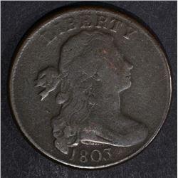 1803 LARGE CENT, FINE
