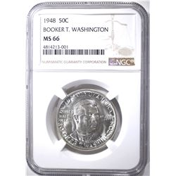 1948 BOOKER T WASHINGTON HALF DOLLAR