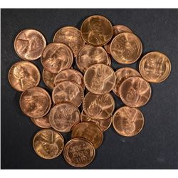 25-BU 1947-S LINCOLN CENTS