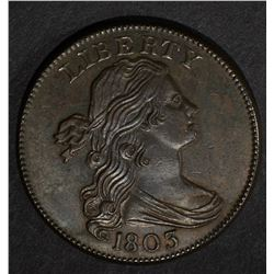 1803 DRAPED BUST LARGE CENT  CH BU
