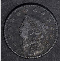 1819/8 LARGE CENT, VF porosity