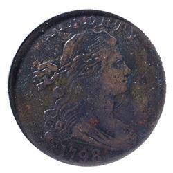 1798 LARGE CENT, NGP VF