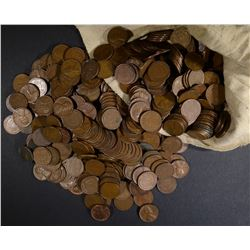 5000 CIRC MIXED DATE LINCOLN WHEAT CENTS
