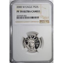 2000 W EAGLE PLATINUM $25