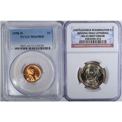 LOT: (2007) GEORGE WASHINGTON $1