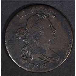 1796 DRAPED BUST LARGE CENT  XF