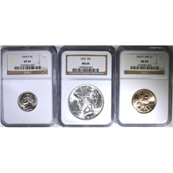 NGC GRADED COINS: