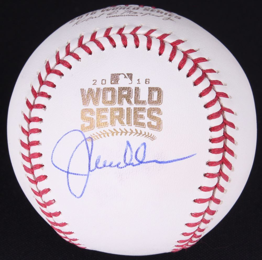 Joe Maddon Autographed Signed 2016 World Series Baseball Ball Cubs Jsa Coa Balls