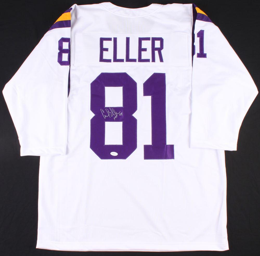 73e723a1 Image 1 : Carl Eller Signed Vikings Jersey Inscribed