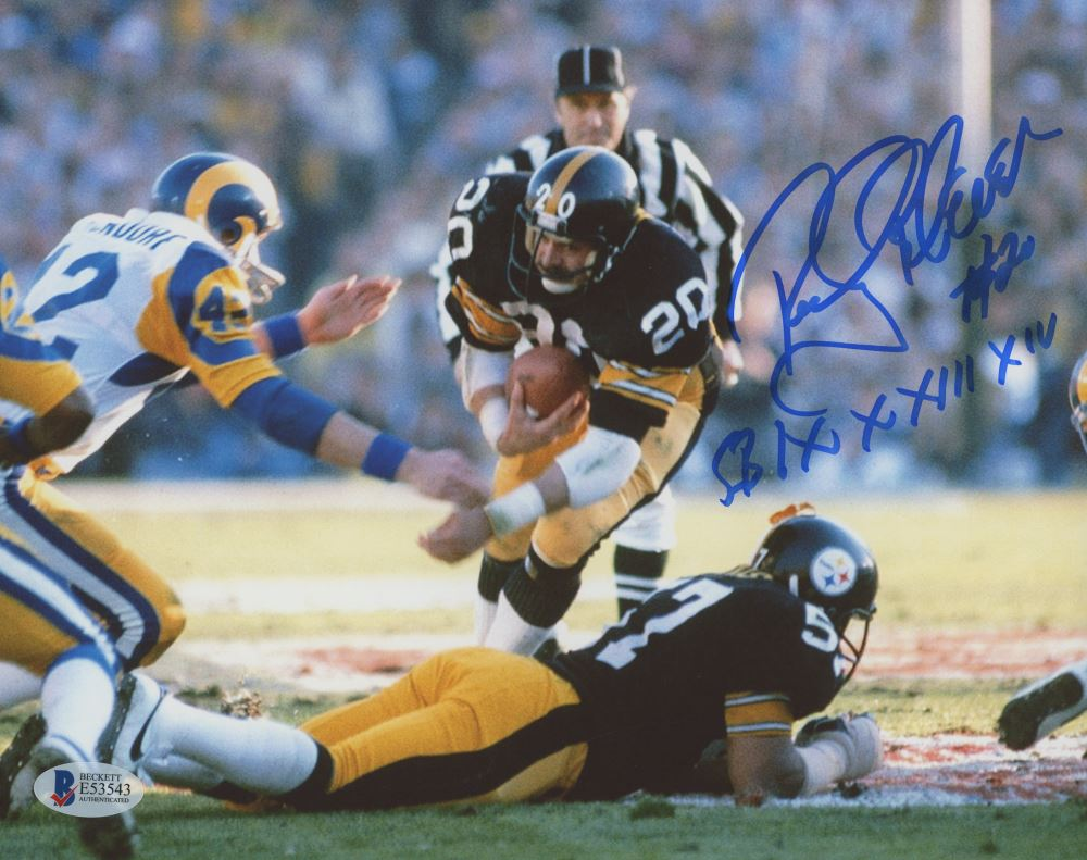 03f41282678 Image 1 : Rocky Bleier Signed Steelers 8x10 Photo Inscribed