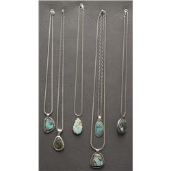 SIX NAVAJO NECKLACES