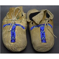 PLATEAU CHILD'S MOCCASINS