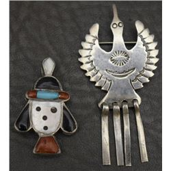 TWO PUEBLO PINS