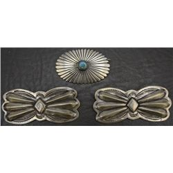 THREE NAVAJO PINS