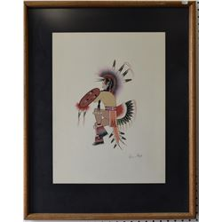 KIOWA PAINTING (BIG BOW)