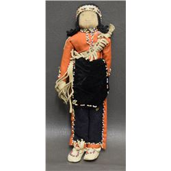 NEZ PERCE CORN HUSK DOLL
