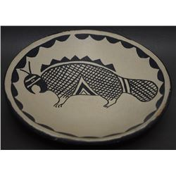COCHITI POTTERY PLATE