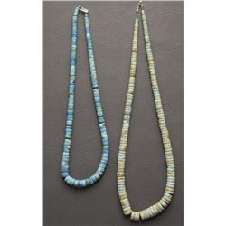 TWO PUEBLO NECKLACES