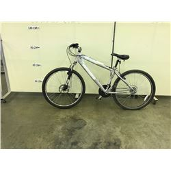 GREY KICKER PRO 21 SPEED FRONT SUSPENSION MOUNTAIN BIKE WITH FRONT DISK BRAKE