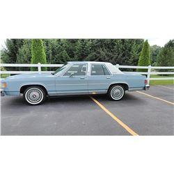 Classic / Vintage 1987 Mercury Grand Marquis