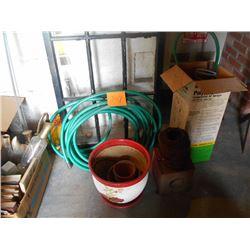 Garden Hose / Compressed Air Sprayer / Flower Pots