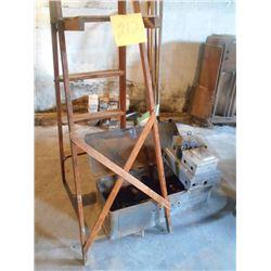 Tools, Wooden Ladder, Elec. Boxes