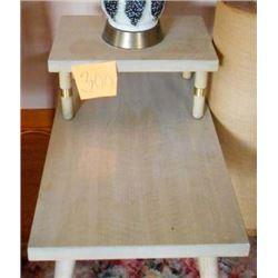BUNDLE LOT: Vintage Coffee Table, Pair of Vintage Step Tables