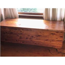6 Ft. Solid Cedar Chest