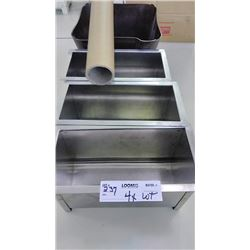 Stainless Steel Silverware Trays