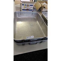 Large Aluminum Serving Tubs