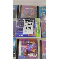 NEW Asstd. Educational CD-ROM, 98 Pieces