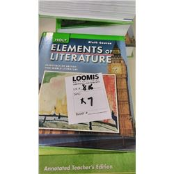 BUNDLE LOT: Language Textbooks (14)
