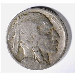 1913-D TYPE-2 BUFFALO NICKEL, FINE KEY DATE
