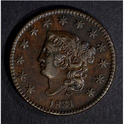 1831 LARGE CENT, AU NICE