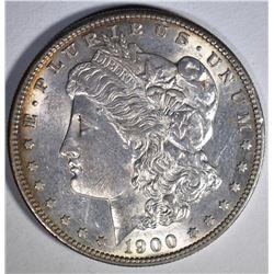 1900-S MORGAN DOLLAR  CH BU