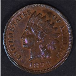 1889 INDIAN HEAD CENT  CH BU  RB