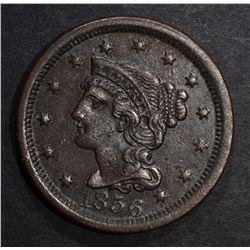 1856 LARGE CENT AU dark