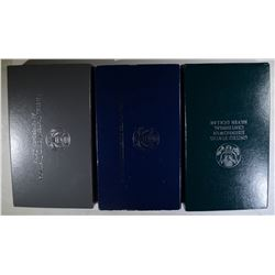1991 MT RUSHMORE  2 coin PROOF SET;