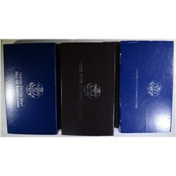 1993 BILL of RIGHTS 2 coin PROOF SET;