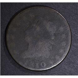 1810 LARGE CENT, AG