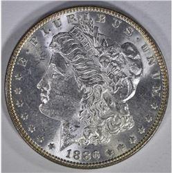 1886 MORGAN DOLLAR  GEM BU