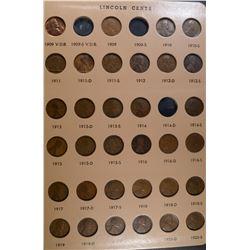 LINCOLN CENT SET 1909-2009
