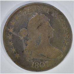 1807 DRAPED BUST HALF DOLLAR HERALDIC