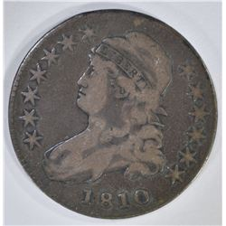 1810 CAPPED BUST HALF DOLLAR  FINE