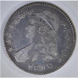 1813 CAPPED BUST HALF DOLLAR 50c/UNI