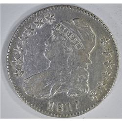 1817 CAPPED BUST HALF DOLLAR  VF